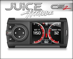 EDGE PRODUCTS JUICE W/ ATTITUDE CS2 MONITOR (2007.5-2012 Dodge Cummins 6.7)