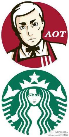 AOT Levi & Eren