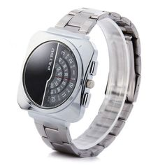 Just US$6.17, buy Paidu 58913 Japan Movt Male Quartz Watch Rotational Scale Wristwatch with Steel Band online shopping at GearBest.com Mobile.