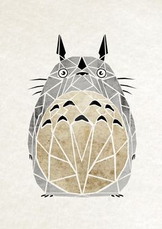 totoro by MaNoU56.deviantart.com on @DeviantArt