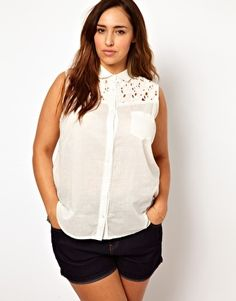 New Look Inspire Sleeveless Shirt