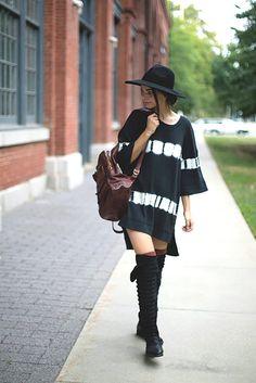 ╰☆╮Boho chic bohemian boho style hippy hippie chic bohème vibe gypsy fashion indie folk the . Boho Fashion Winter, Indie Fashion, Winter Fashion Outfits, Fashion News, Fashion Trends, Gypsy Fashion, Street Fashion, Vogue, Grunge