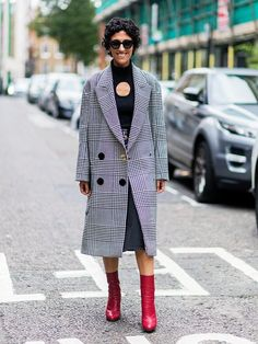 The 27 Most-Pinnable Street Style Looks From London Fashion Week via…