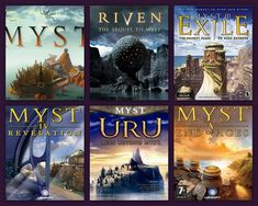 and now have been to them all   not a huge fan of later games but  definetly recomend reading the books to the true fans of myst you can learn alot about atrus and his family line and ever so much about the d ni (duh knee) and their world