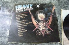 HEAVY METAL Music From The Motion Picture 2 LP Vinyl Record
