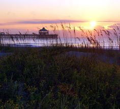 Folly Sunrise  Charleston Beach Sunset Photography by FlashForward, $18.00