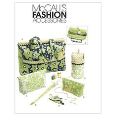 Project Tote, Organizer/Knitting Needle/Scissor Cases And Ya-One Size Only Pattern at Joann.com