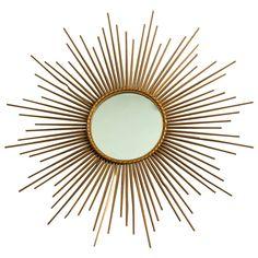 1stdibs | 20th c. Sun Mirror