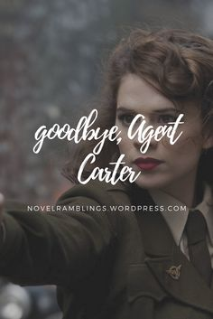 Goodbye, Peggy Carter | Nerdy and Wordy