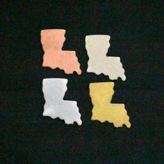 state shaped jewelry blanks