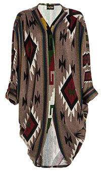 Tribal Cocoon Cardigan...and for the latest in trending accessories, visit Designs By Maral, on etsy ...http://etsy.com/shop/designsbymaral/