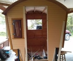the georgian vardo.Updated : August 15, 2015 ...... Finished pictures posted under step 10 ____________________________________________________________I am posting a photographic journal documenting my progress as I build a gypsy wagon. I have named her, the 'Georgian Vardo'. The pictures have been grouped into nine steps of construction and one page of materials. The dimensions can be found under step 11. As of August 15, 2015, the georgian vardo is essentially complete. Construction time…