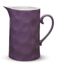 Purple Krinkle 57.5-Oz. Straight Jug