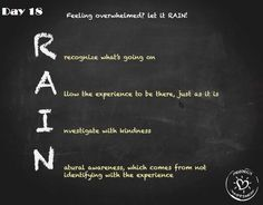 #100HappyDays  Day 18: RAIN...great thing to keep in mind