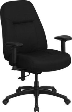 Flash office chair - Pin it :-) Follow us :-)) AzOfficechairs.com is your Office chair Gallery ;) CLICK IMAGE TWICE for Pricing and Info :) SEE A LARGER SELECTION of  flash office chair at http://azofficechairs.com/?s=flash+office+chair - office, office chair, home office chair -  Flash Furniture WL-726MG-BK-A-GG Hercules Series 400-Pound High Back Big/Tall Black Fabric Office Chair, Height Adjustable Arms/Wide Seat « AZofficechairs.com