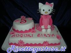 Torta decorata Hello Kitty 3D .