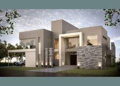 fachadas de piedra modernas - Buscar con Google #casasmodernasfachadasde
