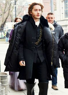 Toby Regbo<< this also reminds me of Pride and Prejudice as well as Sense and Sensibility for some reason