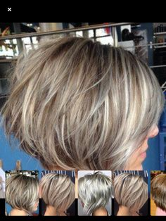 Length hair cabelo curto The Benefits A Mobile App Can Have For A Small Business Short Grey Hair, Short Hair With Layers, Short Hair Cuts, Short Hair Styles, Frosted Hair, Bob Hairstyles 2018, Gray Hair Highlights, Great Hair, Fine Hair