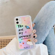 Universe UFO Planet iPhone Case - For iphone 11 / C