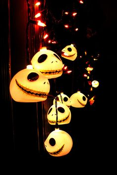 Jack Skellington Lights