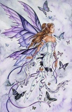Image result for fairy angels adult coloring