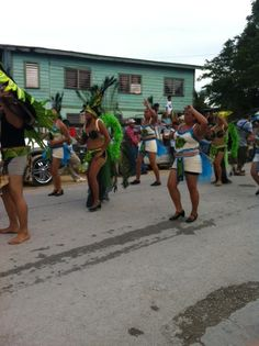 #Belize #Independence #Parade in Orange Walk Town.