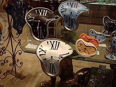 Salvador Dali Watches. #art Artwork #greatart #masterpainters http://www.pinterest.com/TheHitman14/artwork/