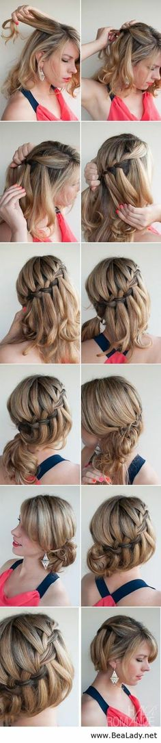 Here are 13 Interesting And Useful Hair Tutorials For you girls - BeaLady.net