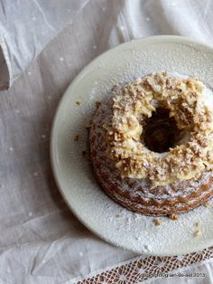 eingeschneiter Walnussgugl Cupcakes, Afternoon Snacks, Bagel, Doughnut, Tea Time, Sweets, Bread, Baking, Desserts