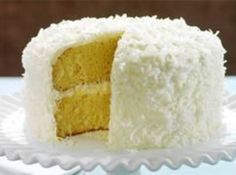 Missy's Coconut Cream Cake #justapinchrecipes