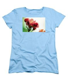 Watercolor Pink Roses - Women's T-Shirt (Standard Fit)
