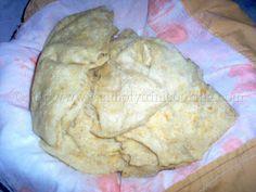 Buss up Shut (Paratha Roti) Raw Food Recipes, Indian Food Recipes, Great Recipes, Cooking Recipes, Favorite Recipes, Indian Foods, Cooking Ideas, Drink Recipes, Carribean Food