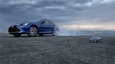 Let's take control, but let's not take ourselves so seriously.  Let's be precise, but let's have a little more fun.  Let's play.  Let's combine the first-ever Lexus RC 350 with the world-class remote-control skills of Japan's legendary Drift44.  Watch the video, then check out more precision drifting at http://www.lexus.com/LetsPlay.