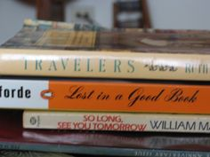 2011 Book Spine Poem Gallery, for National Poetry Month last year.