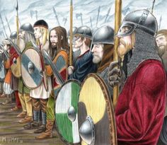 """At the end of the 8th century, most scandinavian people were farmers, and had never fought in a war... Yet, news came from the south, that within less than 25 years, the frankish empire under Charlemagne had killed tenthousands of people, forced them into christianity, and tax servitude to the pope, and had conquered nearly all of Europe! And now the franks were heading north. Thus the time began that is misleadingly called the """"viking age""""!"""