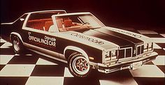 1977 Olds Pace Car. Oldsmobile didn't have a convertible that year, so they created this open top version of the Delta 88.