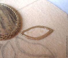 Create a pendant with a volume of embroidery - Fair Masters - handmade, handmade