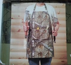 Realtree® Xtra Camo Apron Kitchen Decorative Rustic Camouflage Outdoor Outfitter #Realtree