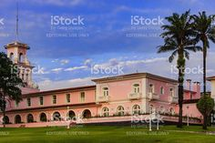 Iguacu, Brazil - Cataratas Hotel at sunset royalty-free stock photo