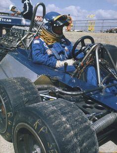 USA GP Long Beach 1977 Ronnie Peterson Tyrrell P34