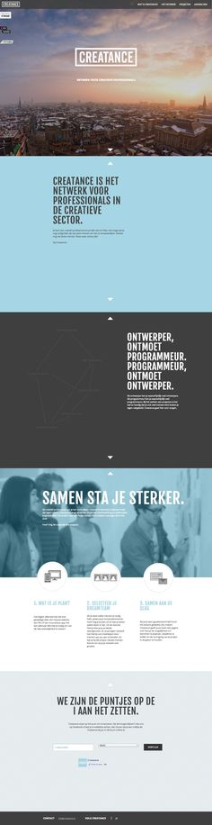 Unique Web Design, Creatance http://www.pinterest.com/aldenchong/) more on http://html5themes.org