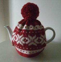 Nordic Tea Cosy knitting project by Pat E | LoveKnitting