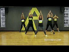 """Lift Your Head"" || Crowder || Toning Choreography || REFIT® REVOLUTION - YouTube"