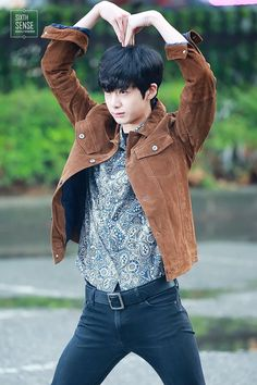 Monsta X — Monday: Hyungwon outside en route to Music Bank. Jooheon, Monsta X Hyungwon, Yoo Kihyun, Shownu, Minhyuk, Got7, Monsta X Funny, Heart Meme, Starship Entertainment