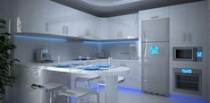 best futuristic kitchens - Szukaj w Google