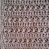 Royal Lavender Crocheted Baby Blanket