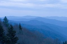 The amazing Smoky Mountains...hopefully going here summer 2014!