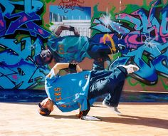 Break dancing is a relatively modern form of dance, which started in the late 1960's in New York City by African American youths. A combination of acrobatic dance moves and martial art techniques, the high-energy dance form is very competitive in spirit, resulting in break dance battles. In addition to New York City and other urban centers in the U.S., you might catch break dancers in action in Tokyo's Yoyogi Park.