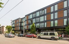 19th + Mercer Apartments, Seattle WA Lake Union Partners with Weinstein A+U